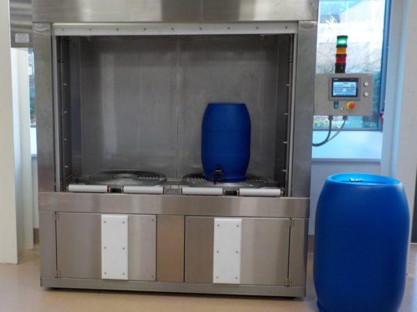 Cabine de lavage fûts 2 postes LFPIE-2-220