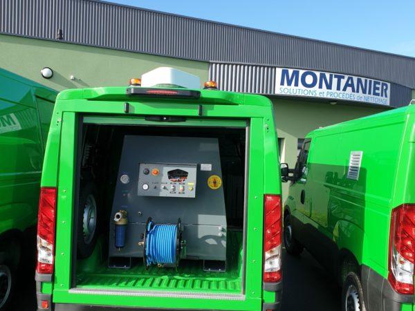 Unite de nettoyage autonome gaz