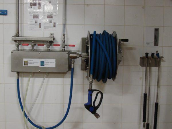 boitier mousseur haute pression