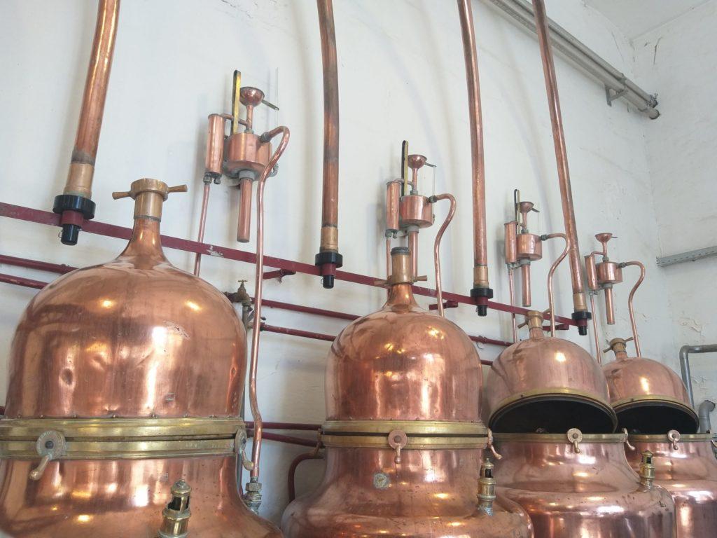 Reseau process distillerie